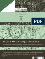El Pensamiento Arquitectonico