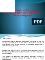 documentclusteringforforensicanalysisanapproachforimprovingcomputerinspection-140308021610-phpapp01