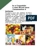 30 Drinks e Coquetéis Famosos Sem Álcool Para Festas
