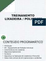 TREINAMENTO LIXADEIRA - POLICORTE