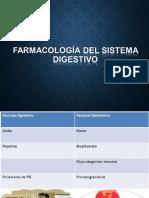 FARMACOLOGÍA DIGESTIVO