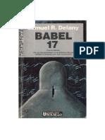 Babel 17 - Samuel R Delany