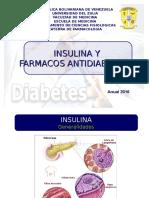 Insulina y Farmacos Antidiabeticos, Anual 2016