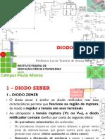 7 - Disp Eletrônico - IfBA - Diodo Zener