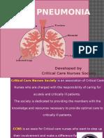 Pneumonia Module 1