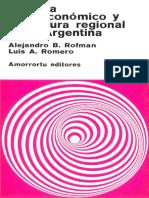Sistema Socioeconómico y Estructura Regional en La Argentina