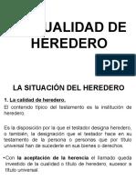 3-Cualidad de Heredero