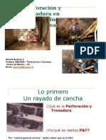 Perforación y Tronadura Subterránea 2009