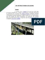 Tipos de Estructuras de Acero