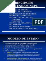 Principales Contenidos de La CPE de Bolivia