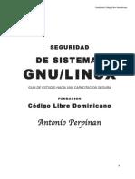 Seguridad de Sistemas GNU/LINUX