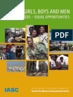 IASC Gender Handbook