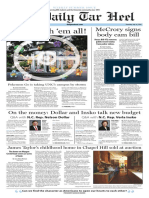 The Daily Tar Heel for July 14, 2016