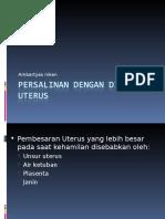 234241368-Persalinan-Dengan-Distensi-Uterus.ppt