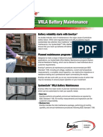 US SS BM 001 VRLABatteryMaintenance 0411