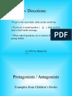 Protagonists & Antagonists
