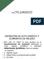Acto Juridico
