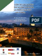 EVALUACION DE LA CALIDAD DE LA EDUCACION SUPERIOR  Y DE LA INVESTIGACION (VII FORO 2010).pdf