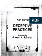 Karl Fulves - Deceptive Pratices