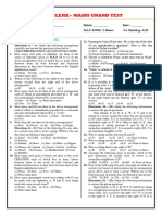 Face - Ibps Clerk - V Mains Grand Test - 2