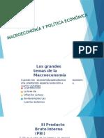 Macroeconomia y Politica Economica