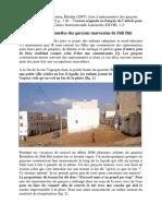 Jeux à maisonnettes des garçons marocains de Sidi Ifni