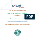 Pass4sure 300-135  Past Papers
