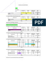 Planilla de Metrados-Estructura