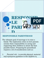 Responsible Parenthood 2