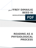 Reading as a Physiological Process