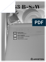 Ariston L63 Dishwasher User Manual