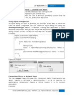 Using JOptionPane.showInputDialog box