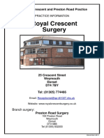 Royal Crescent Practice Booklet RCS
