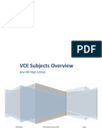 VCE Subjects Overview 2017 v2