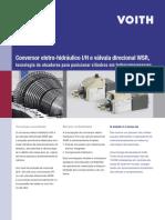 Conversor Eletro-hidráulico I_H e Válvula Direcional WSR