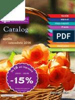 Catalog Casa Cărții (aprilie-octombrie 2016)