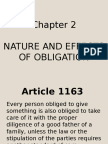 Nature and Effects of Obligations