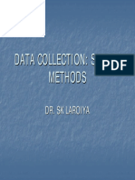 Data Collection Survey Methods
