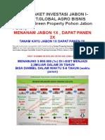 Pilihan Paket Investasi Jabon i