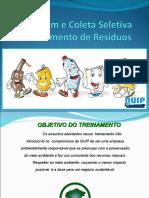 Treinamento de Reciclagem e Coleta Seletiva