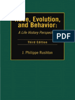Race, Evolution, and Behavior - A Life History Perspective [3rd Unabridged Edition] (2000) by John Philippe Rushton.pdf