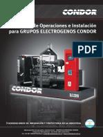Manual Grupos Electrógenos Condor