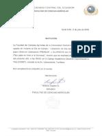 [Invitación] Día de campo para liberar dos variedades de papa con fines agroindustriales en Ecuador