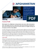 Afghanistan Country Profile (English)