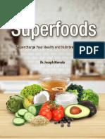 Superfoods List eBook