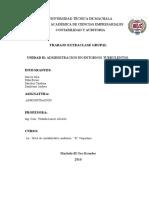 Unidad-II . Administración en Entornos Turbulentos. Conflictos en La Organizacion. Grupo 3