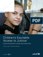 Children's Equitable Access to Justice