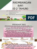 PERKEMBANGAN BAYI EDUP3023