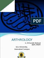 Arthrology by Dr. Farrukh