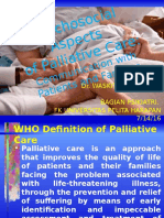 Psychosocial Aspect of Paliative Care 2014